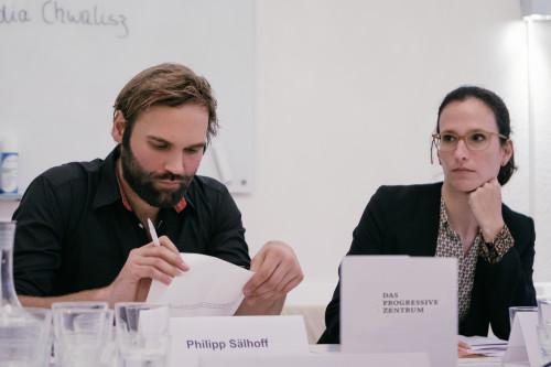 rechts Dr. Funda Tekin (IEP), daneben Philipp Sälhoff (DPZ). Foto:DPZ